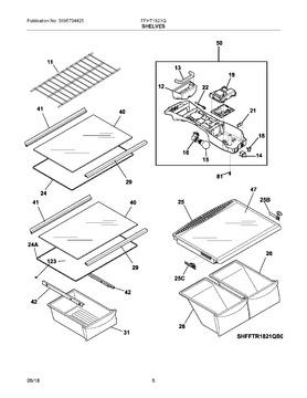 5304507171 Frigidaire Refrig Control Box Automatic