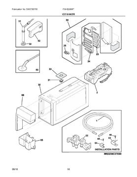 vintage frigidaire refrigerator wiring diagram schematic diagrams rh ogmconsulting co