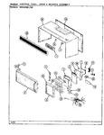 Diagram for 03 - Control Panel/door/wrapper (mod62)