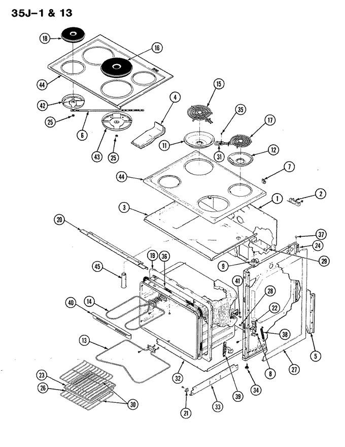 Diagram for 35JA-13LXS-ON