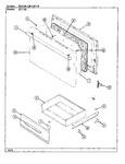 Diagram for 04 - Door/drawer (651xh)