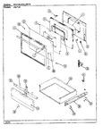 Diagram for 05 - Door/drawer (656xh-ehvw)