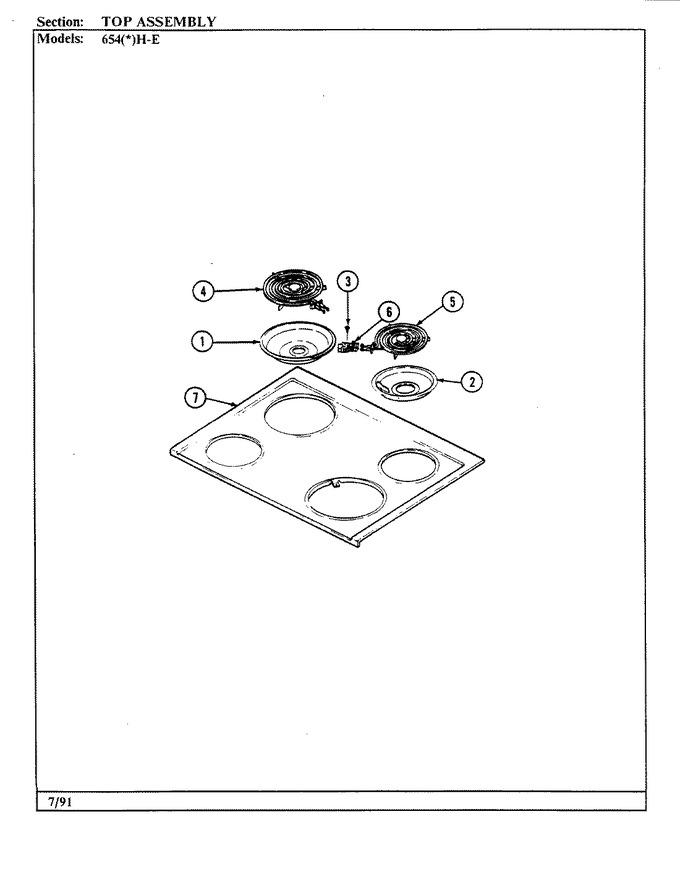Diagram for 654AH-ELVW
