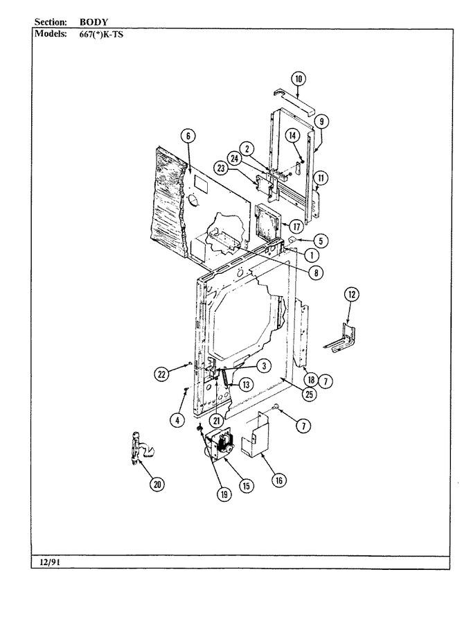 Diagram for 667WK-TSVW