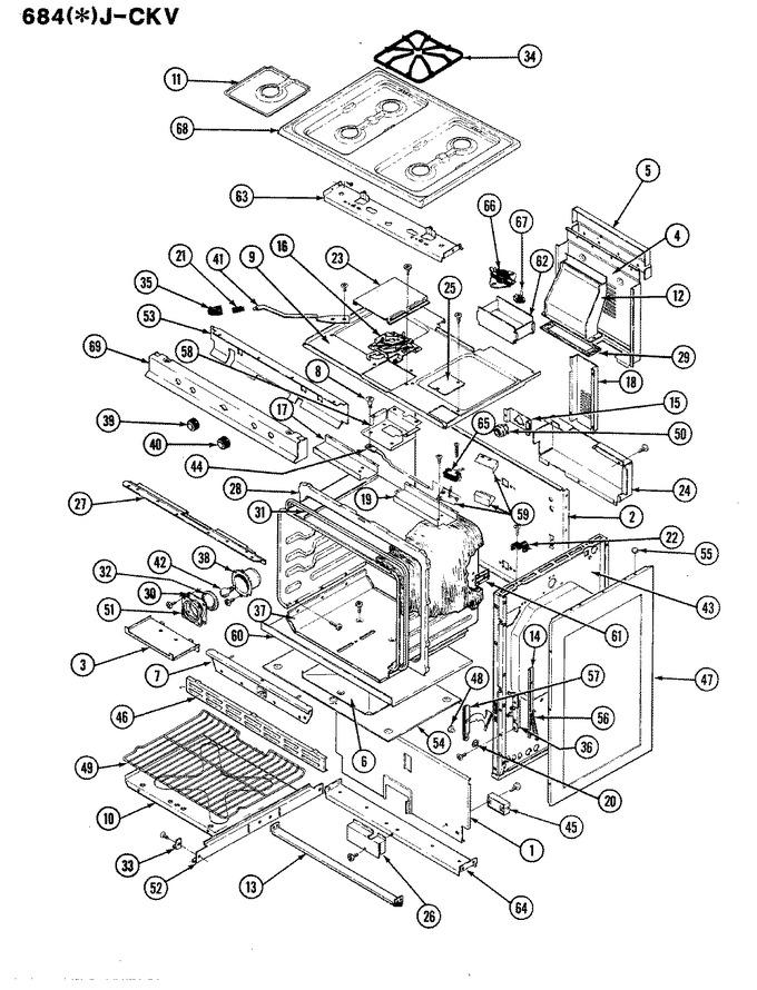 Diagram for 684AJ-CKV