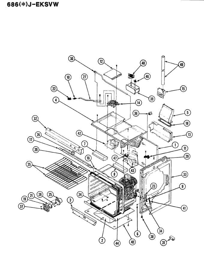 Diagram for 686WJ-EKSVW