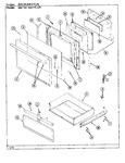 Diagram for 05 - Door\drawer