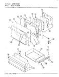 Diagram for 04 - Door/drawer