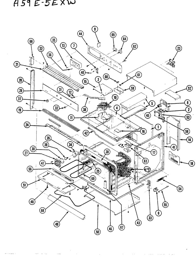 Diagram for A59-5EXW-R