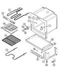 Diagram for 04 - Oven/base