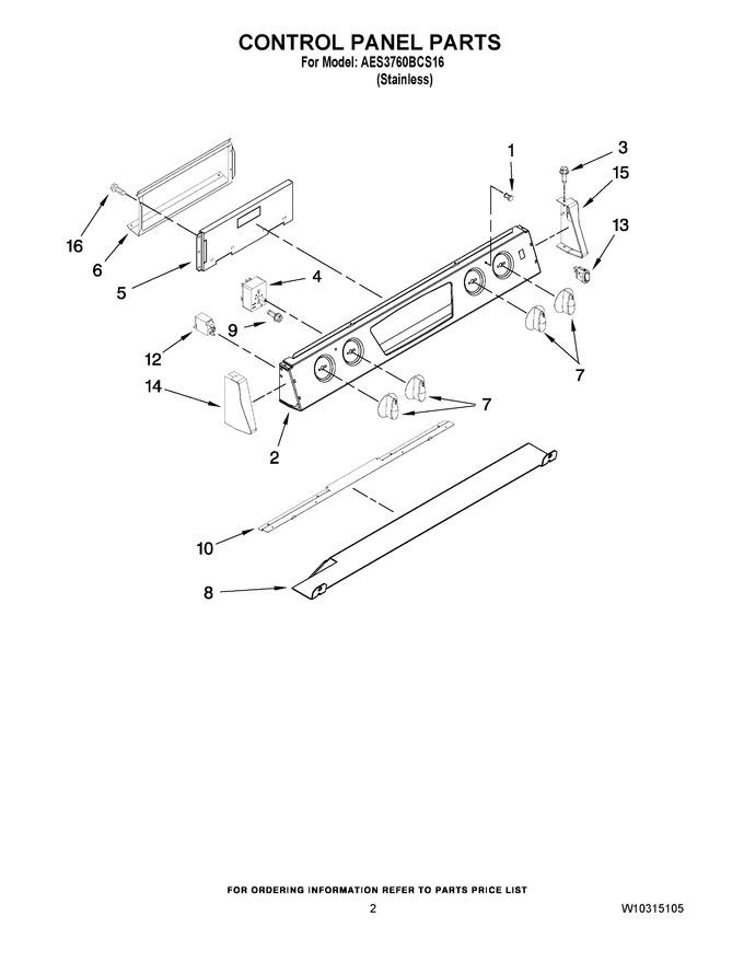 Diagram for AES3760BCS16