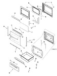 Diagram for 03 - Door/drawer (slv)