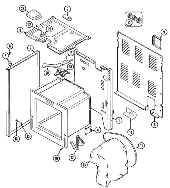 Diagram for CE38300BAQ