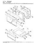 Diagram for 03 - Door/drawer (cex4d59c0)