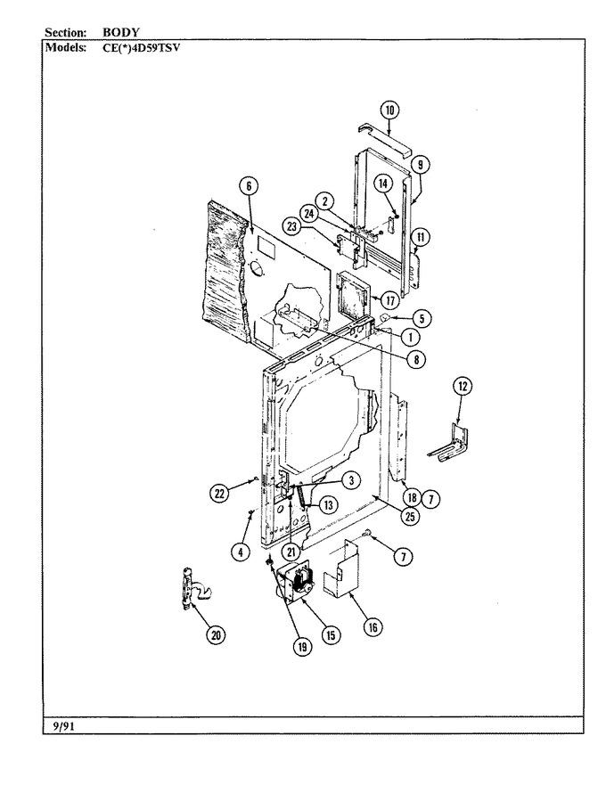Diagram for CEA4D59TSV