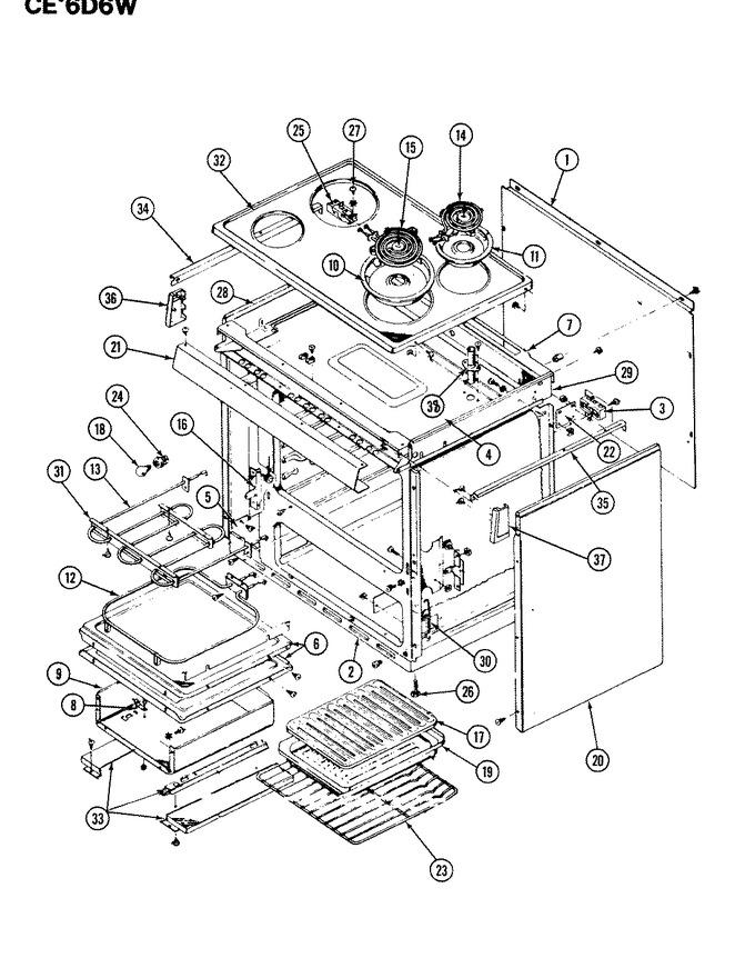 Diagram for CEW6D6W