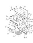 Diagram for 08 - Upper Oven Body