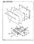 Diagram for 02 - Door/drawer (cgx3d1, Cgx3d1k)