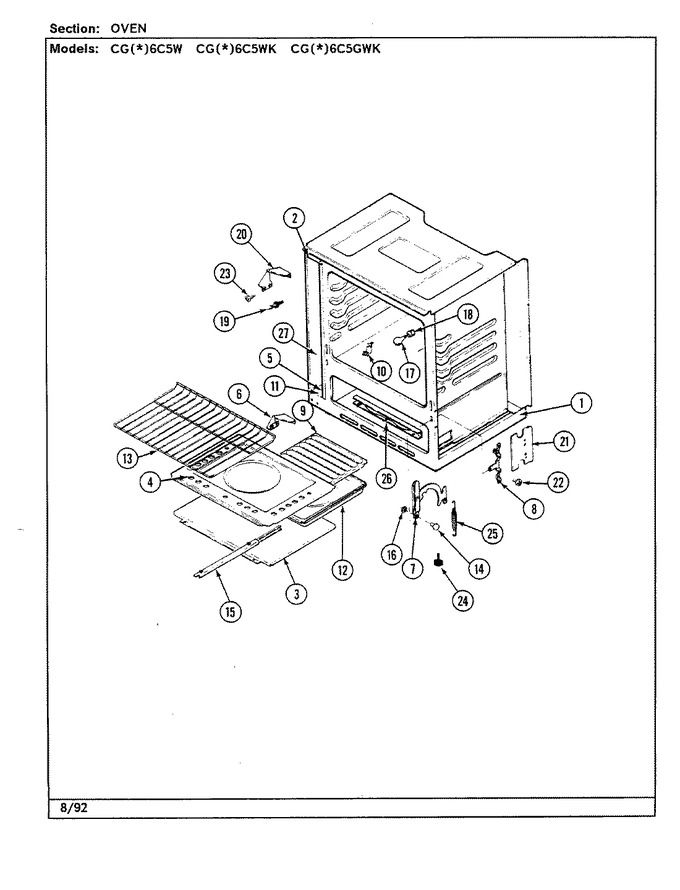 Diagram for CGA6C5GWK