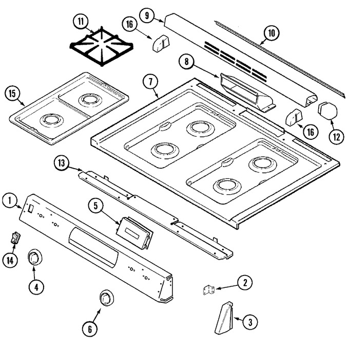 Diagram for MGS5770ADQ