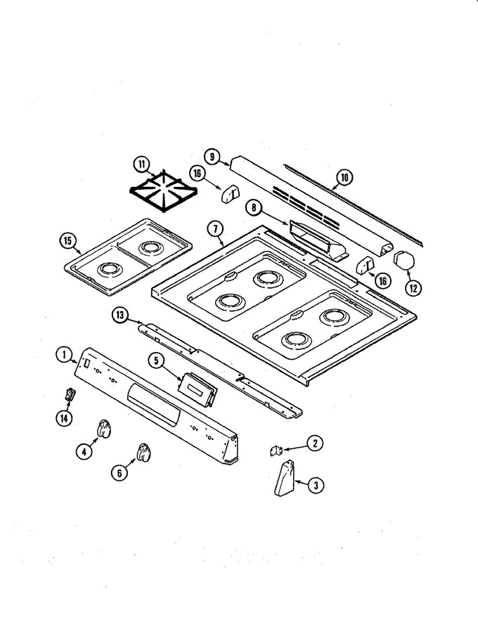 Diagram for MGS5870ADQ