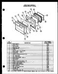 Diagram for 09 - Oven Door Assy