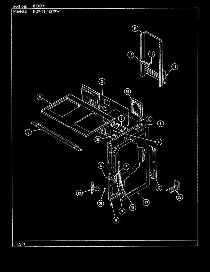 Diagram for EG9-71W579W