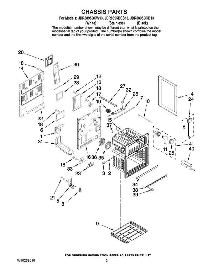 Diagram for JDR8895BCS13