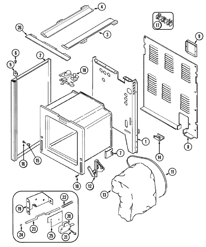 Diagram for JER8750AAB