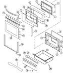 Diagram for 03 - Door/warming Drawer