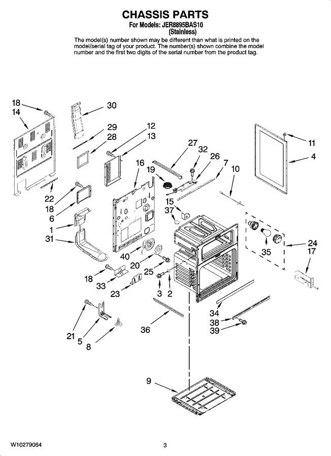 Diagram for JER8895BAS10