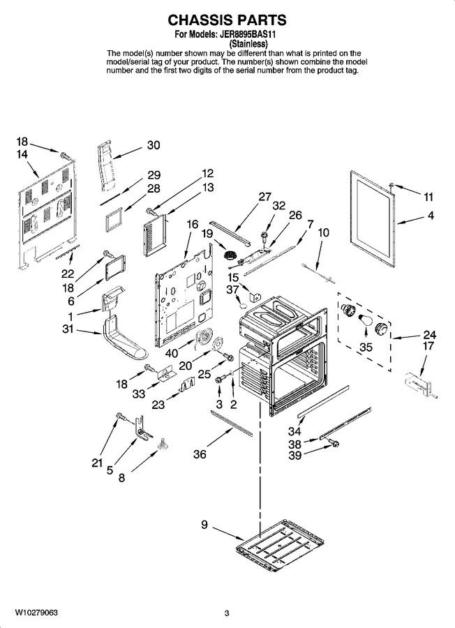 Diagram for JER8895BAS11