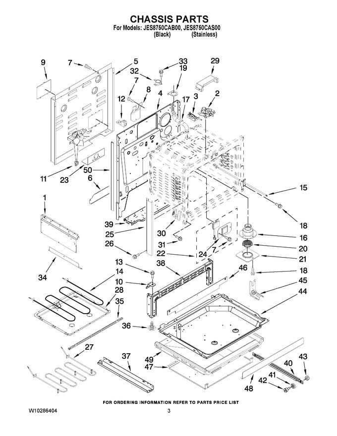 Diagram for JES8750CAB00