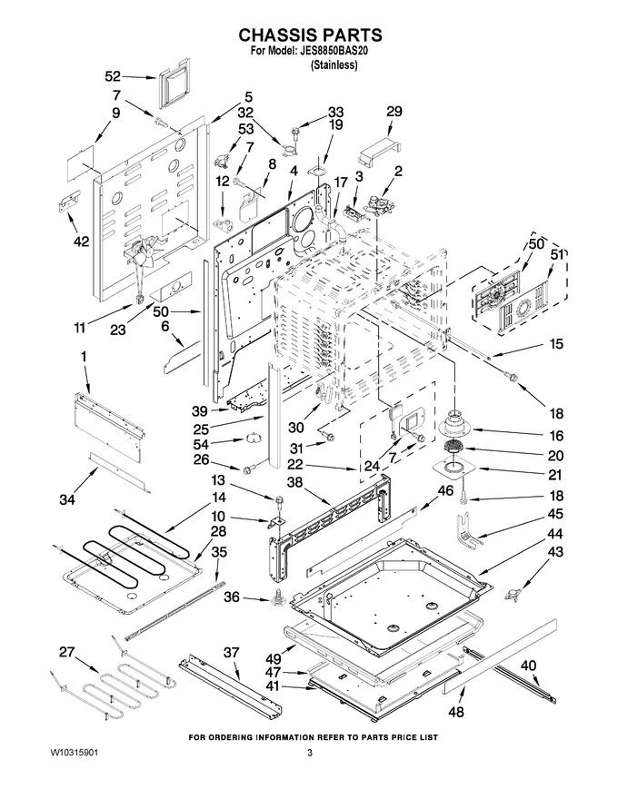 Diagram for JES8850BAS20
