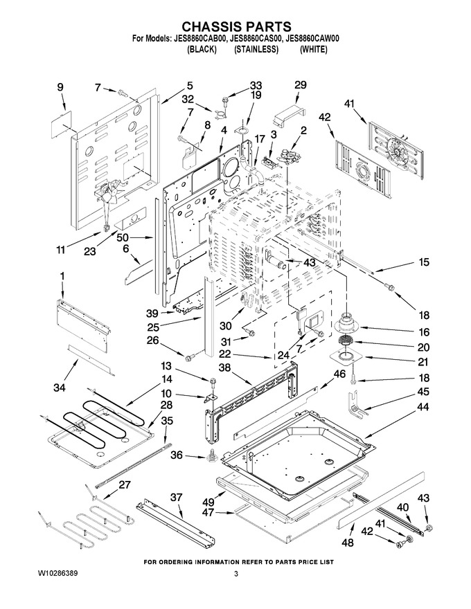 Diagram for JES8860CAS00