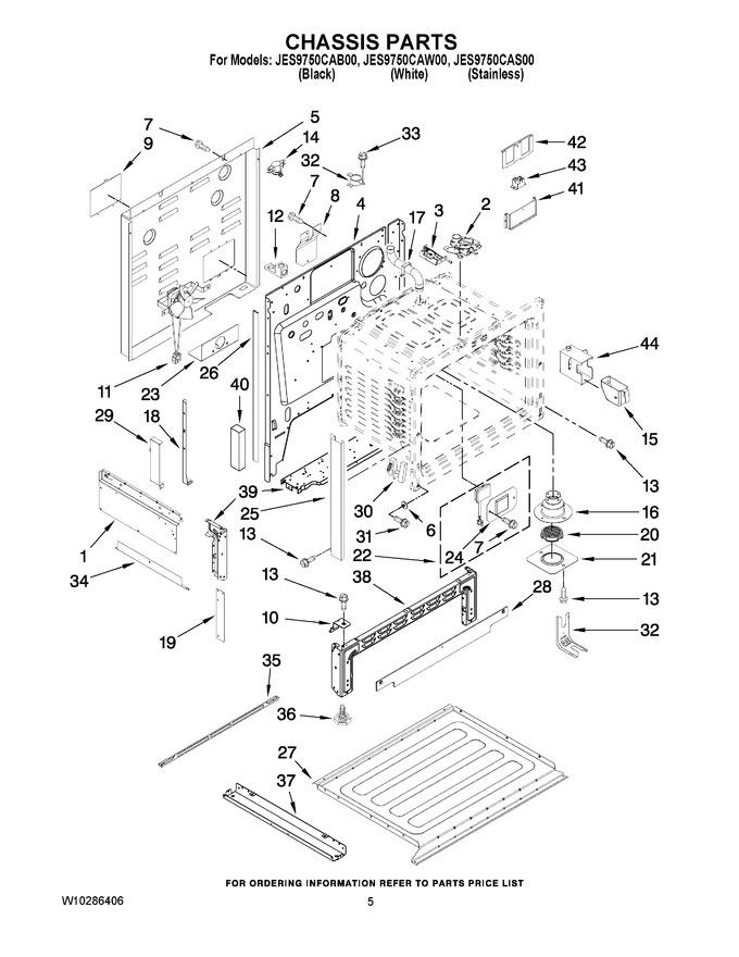 Diagram for JES9750CAB00