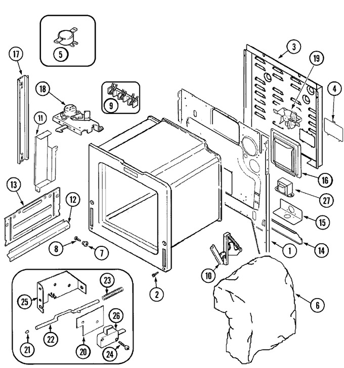 Diagram for JES9800ACW