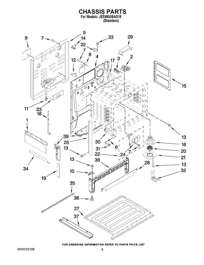 Diagram for JES9800BAS18