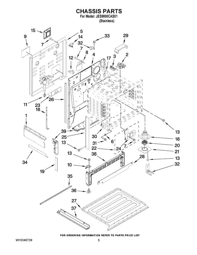 Diagram for JES9800CAS01