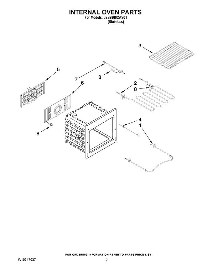 Diagram for JES9860CAS01