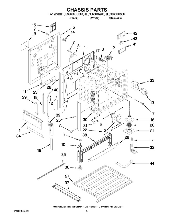 Diagram for JES9860CCW00