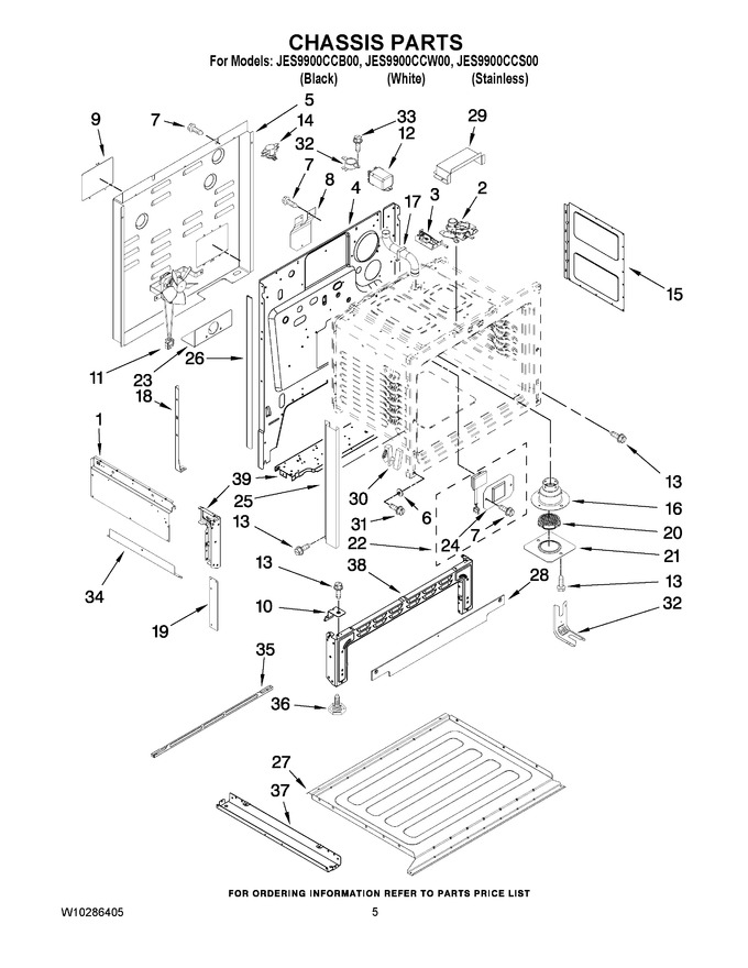 Diagram for JES9900CCW00