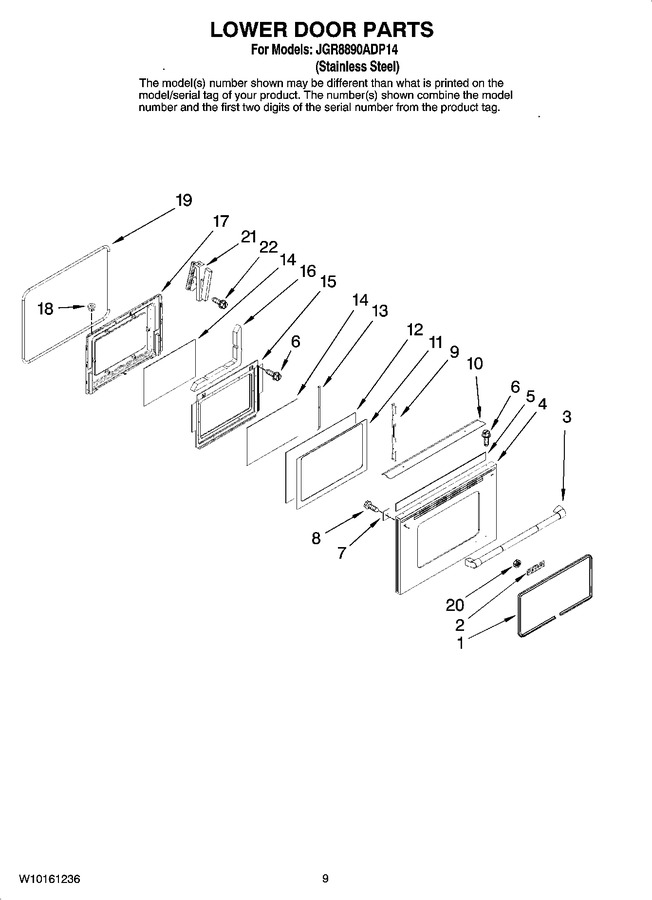 Diagram for JGR8890ADP14