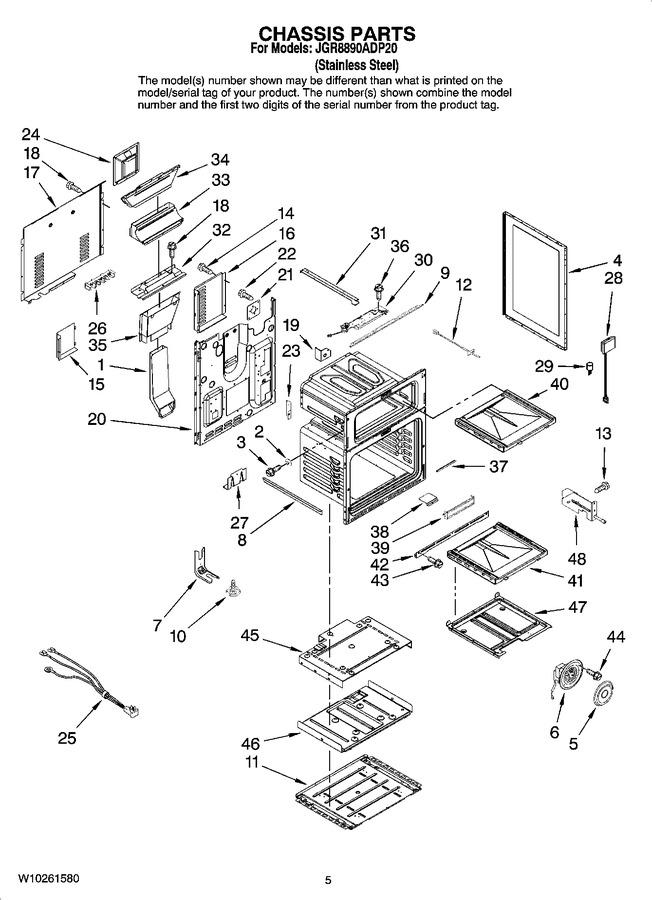 Diagram for JGR8890ADP20