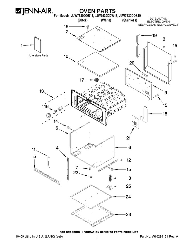 Diagram for JJW7530DDB19