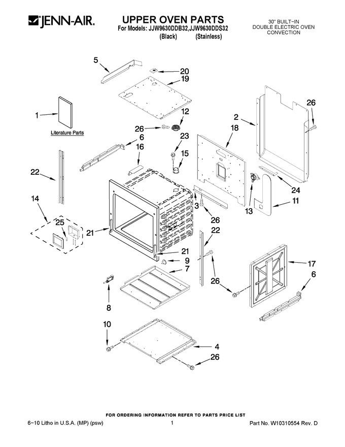 Diagram for JJW9630DDS32