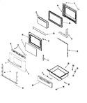 Diagram for 03 - Door/drawer (series 10)