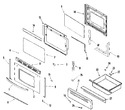 Diagram for 04 - Door/drawer (series 16)