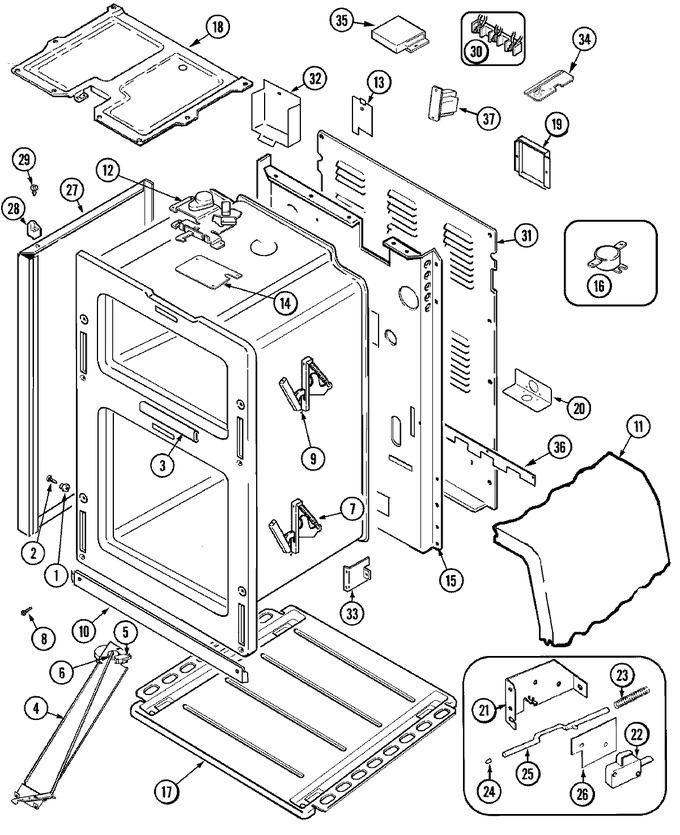 Diagram for MER6550BAW
