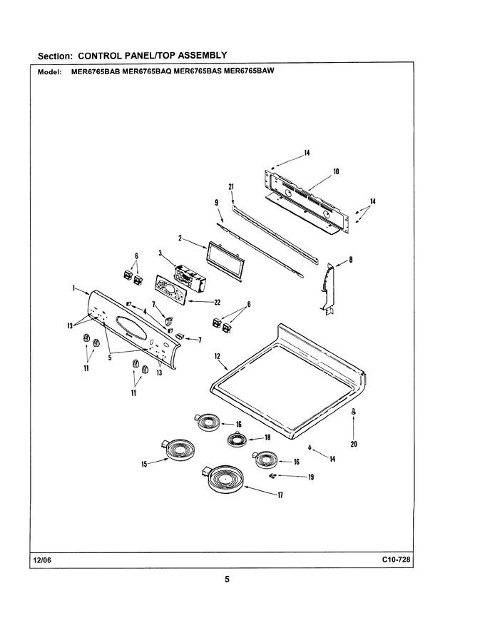 Diagram for MER6765BAS